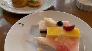 滋賀県守山市のクラブハリエ守山玻璃絵館のケーキバイキング