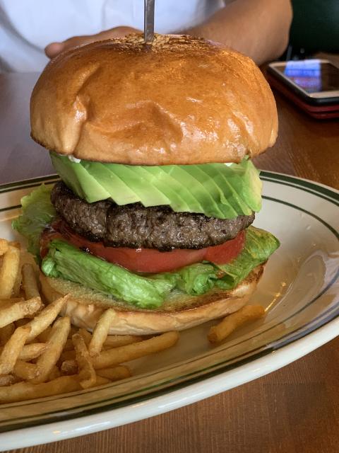 野洲ダンボのハンバーガー