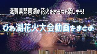 びわ湖花火動画まとめ